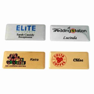 Personalised Metal ID Badges