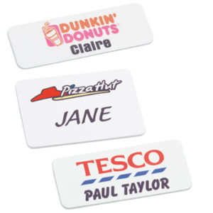 Personalised Plastic ID Badges