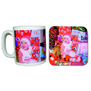 Photo Mug & Coaster Set