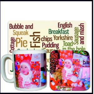 Mugs, Placemats & Coasters