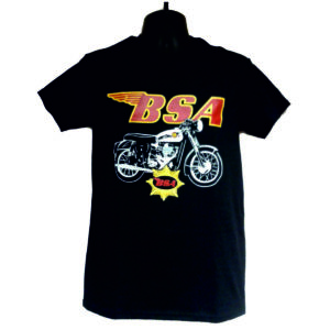 "Men's T-Shirt ""BSA GOLDSTAR BIKE"""
