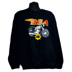 "Men's Sweatshirt ""BSA GOLDSTAR BIKE"""