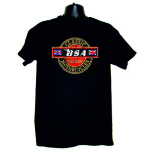 "Men's T-Shirt ""BSA CLASSIC MOTORCYCLES"""