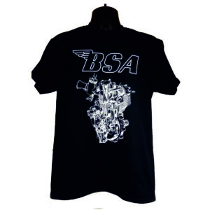 "Men's T-Shirt ""BSA ENGINE"""
