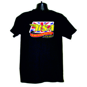 "Men's T-Shirt ""BSA MOST POPULAR MOTORCYCLES"""