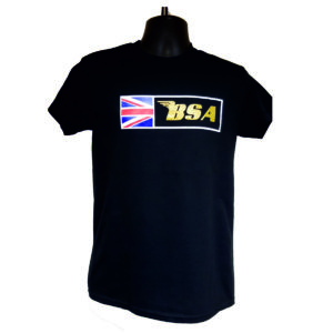 "Men's T-Shirt ""BSA GBR FLAG"""